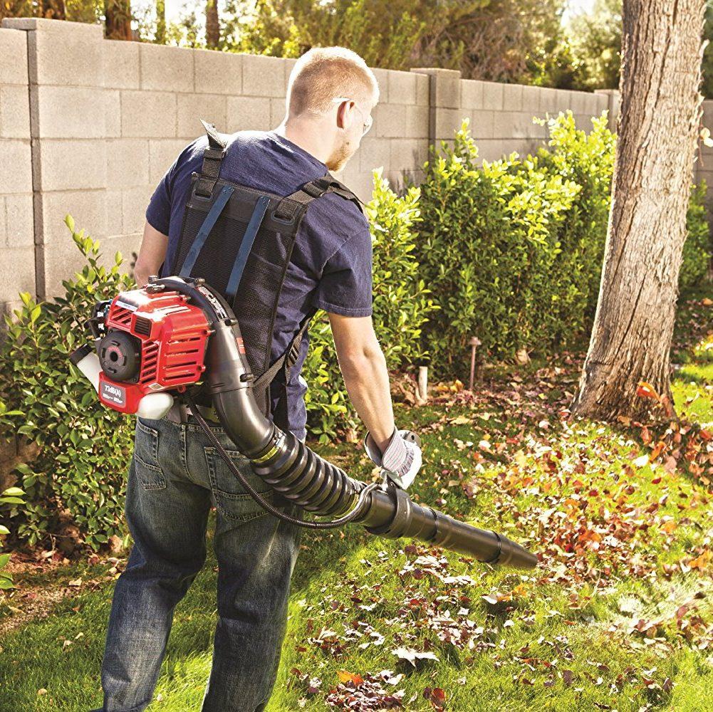Troy Bilt Tb2bp Ec Backpack Blower Best Gutter Cleaning Tool